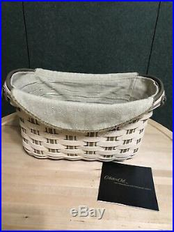 Longaberger Collectors Club Jw Heritage Series Journal Basket Set New