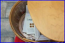 Longaberger Collectors Club Shaker Harmony Basket Set Combo Set of 4