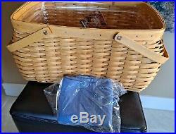Longaberger Craft Keeper Basket Combo Set FREE SHIPPING