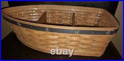 Longaberger Cruise Award Incentive Boat basket set MINT FREE SHIPPING