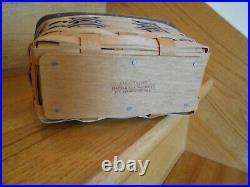 Longaberger Desk Office Basket Set of 4 rare awards blk red shipping included