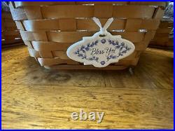 Longaberger Generation Basket Set of 6 with liners, wood lids and protectors