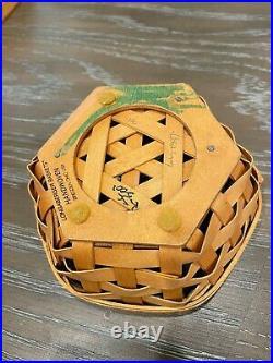 Longaberger Generations Basket Set of 6 Baskets with Lids & Protectors