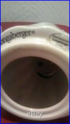 Longaberger Halloween Boo ghost basket set RARE