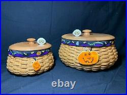 Longaberger Halloween Pumpkin Basket Sets (Hostess and Customer)