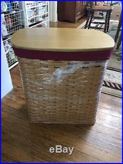 Longaberger Holds It All (hamper) Basket Set- New Warm Brown