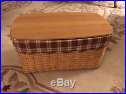 Longaberger Hope Chest Basket Set