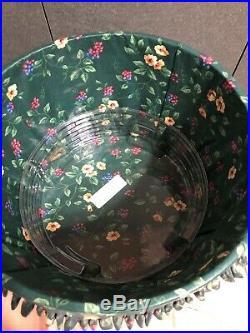 Longaberger Hostess Sewing Basket Set Complete