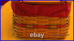 Longaberger Hostess Treasure Basket Set and Wrought Iron Stand