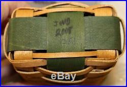Longaberger Little Shopper Basket sets Red & Green, New in boxes