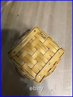 Longaberger May Series Miniature Petunia Basket Set