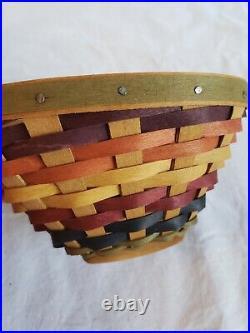 Longaberger Multi Color Tri Bowl Combo Set
