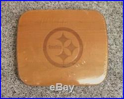 Longaberger NFL TV Time Pittsburgh Steelers Basket Set Made in the USA