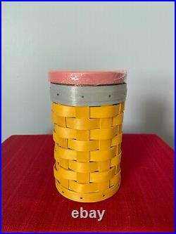Longaberger No. 2 Pencil Basket SetNWT'sRare and HTF