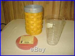 Longaberger No. 2 Pencil Basket Set