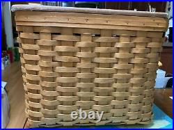 Longaberger Personal File Basket 2005 -RARE TO FIND THE SET NEW