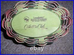 Longaberger RARE 2010 Collectors Club Event Watermelon Basket Set. NEW