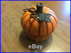 Longaberger RARE 2012 Collectors Club Pumpkin Basket Set