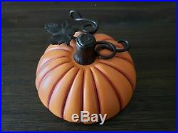 Longaberger RARE 2012 Collectors Club Pumpkin Basket Set. New