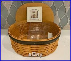 Longaberger RARE SIGNED BY 3! Collectors Club Shaker Harmony 5-Basket Set COMBO