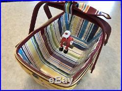 Longaberger Rare 2007 Jelly Belly Basketfest Easter Basket Set