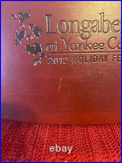 Longaberger Rare 2012 Yankee Candle Event Basket Set NWT's