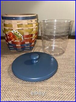 Longaberger Rare Award Collectors Club Little Jar Basket Set