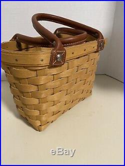 Longaberger Small-Medium-Large Boardwalk Basket Set-All 3 Included