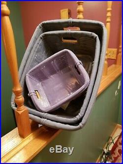 Longaberger Small Medium Large Storage Solutions Basket Set Combos Protectors