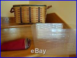 Longaberger Small Wash Day Basket Set Proudly American 03 shipping included