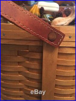 Longaberger Small Wash day Basket Set