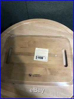 Longaberger Sort & Store Small Rectangle Storage Basket Set New Warm Brown