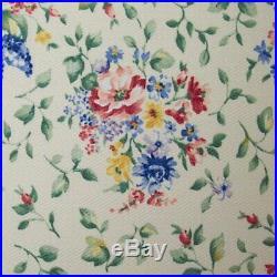 Longaberger Spring Floral BASKET BIN SET 3-Bin Liners MultiSets New in Bags