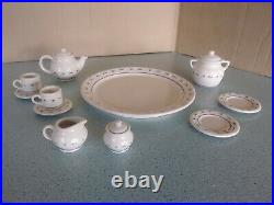 Longaberger USA Collector's Club Miniature Mini Tea Set with Cookie Jar