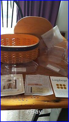 Longaberger set of 5 Harmony Baskets