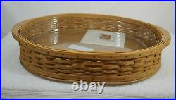 NEW Longaberger 2004 Collectors Club Edition Tea Set Serving Basket Combo- Boxes