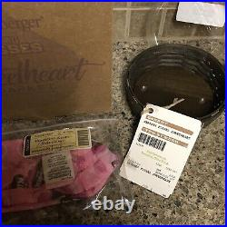 NEW Longaberger Hershey's Kisses Sweetheart Basket Combo Set In Original Box