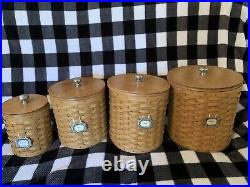 Pre-Owned 2003, Longaberger Canister Set 16+ piece
