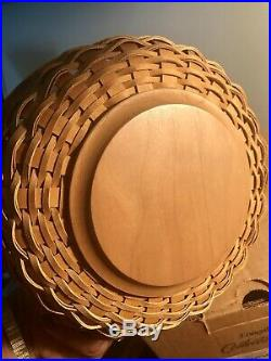 RARE Longaberger Collectors Club Lightship Basket Set, New in Box, Retired