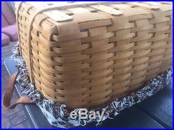 RARE Longaberger SET LARGE & SMALL WASH DAY Baskets Halloween