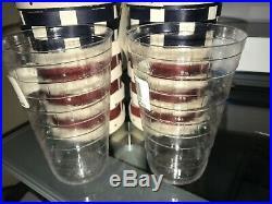 Set of 2 Longaberger (2013) 4th of July Firecracker Basket w Plastic Liner