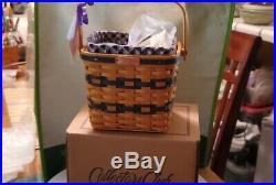 Set of 7 longaberger collectors club miniature baskets