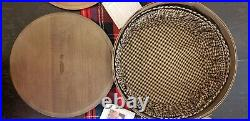 Update! Longaberger Keeping Baskets Set of 4 (3)withfabric liners. Lost is found